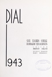 Page 7, 1943 Edition, Framingham State University - Dial Yearbook (Framingham, MA) online yearbook collection