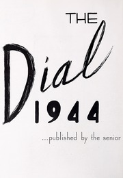 Page 6, 1944 Edition, Framingham State University - Dial Yearbook (Framingham, MA) online yearbook collection