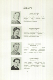 Page 14, 1949 Edition, Franconia Mennonite School - Laureate Yearbook (Souderton, PA) online yearbook collection