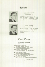 Page 16, 1949 Edition, Franconia Mennonite School - Laureate Yearbook (Souderton, PA) online yearbook collection