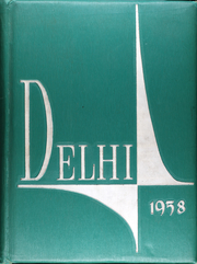 Frank B Willis High School - Delhi Yearbook (Delaware, OH) online yearbook collection, 1958 Edition, Cover