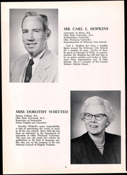 Page 10, 1958 Edition, Frank B Willis High School - Delhi Yearbook (Delaware, OH) online yearbook collection