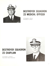 Frank Evans (DD 754) - Naval Cruise Book online yearbook collection, 1966 Edition, Page 17