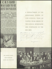 Page 7, 1937 Edition, Frankfort Community High School - Red Bird Yearbook (West Frankfort, IL) online yearbook collection