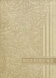 Frankfort Community High School - Red Bird Yearbook (West Frankfort, IL) online yearbook collection, 1942 Edition, Cover