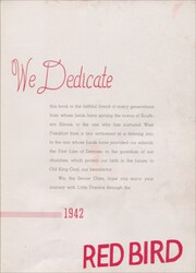 Page 7, 1942 Edition, Frankfort Community High School - Red Bird Yearbook (West Frankfort, IL) online yearbook collection