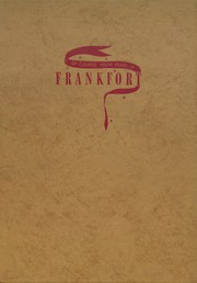 Frankfort High School - Cauldron Yearbook (Frankfort, IN) online yearbook collection, 1946 Edition, Cover