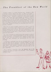 Page 11, 1946 Edition, Frankfort High School - Cauldron Yearbook (Frankfort, IN) online yearbook collection