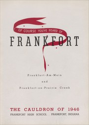 Page 7, 1946 Edition, Frankfort High School - Cauldron Yearbook (Frankfort, IN) online yearbook collection