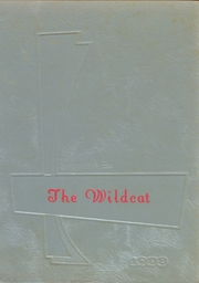 Frankfort High School - Wildcat Yearbook (Frankfort, KS) online yearbook collection, 1958 Edition, Cover
