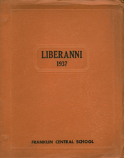Franklin Central High School - Liberanni Yearbook (Franklin, NY) online yearbook collection, 1937 Edition, Cover