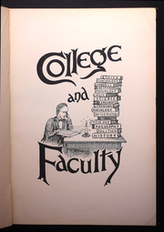 Page 17, 1899 Edition, Franklin College - Almanack Yearbook (Franklin, IN) online yearbook collection