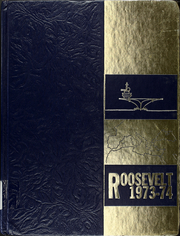 Franklin D Roosevelt (CVA 42) - Naval Cruise Book online yearbook collection, 1974 Edition, Cover