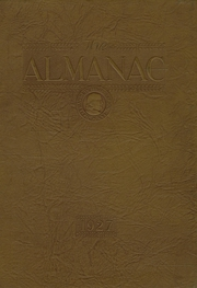 Franklin High School - Almanac Yearbook (Los Angeles, CA) online yearbook collection, 1927 Edition, Cover