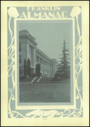 Page 10, 1930 Edition, Franklin High School - Almanac Yearbook (Los Angeles, CA) online yearbook collection