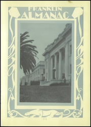 Page 11, 1930 Edition, Franklin High School - Almanac Yearbook (Los Angeles, CA) online yearbook collection