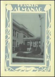 Page 13, 1930 Edition, Franklin High School - Almanac Yearbook (Los Angeles, CA) online yearbook collection