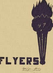 Franklin High School - Flyers Yearbook (Franklin, NE) online yearbook collection, 1947 Edition, Cover