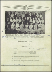 Page 17, 1947 Edition, Franklin High School - Flyers Yearbook (Franklin, NE) online yearbook collection