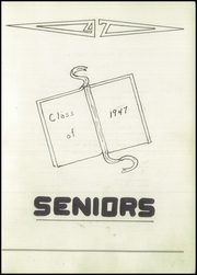 Page 7, 1947 Edition, Franklin High School - Flyers Yearbook (Franklin, NE) online yearbook collection