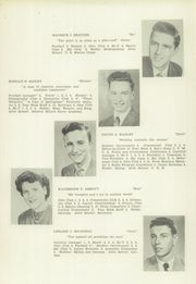 Franklin High School - Key Yearbook (Franklin, NH) online yearbook collection, 1950 Edition, Page 13