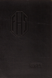 Franklin High School - Franklinite Yearbook (Franklin, PA) online yearbook collection, 1934 Edition, Cover
