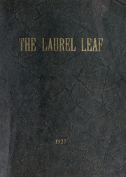 Franklin High School - Laurel Leaf Yearbook (Franklin, NC) online yearbook collection, 1927 Edition, Cover