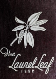 Franklin High School - Laurel Leaf Yearbook (Franklin, NC) online yearbook collection, 1952 Edition, Cover