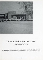 Page 7, 1965 Edition, Franklin High School - Laurel Leaf Yearbook (Franklin, NC) online yearbook collection