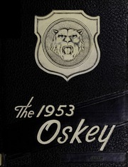 Franklin High School - Oskey Yearbook (Franklin, MA) online yearbook collection, 1953 Edition, Cover