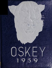 Franklin High School - Oskey Yearbook (Franklin, MA) online yearbook collection, 1959 Edition, Cover