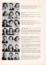 Franklin High School - Post Yearbook (Portland, OR) online yearbook collection, 1945 Edition, Page 22