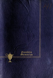 Franklin High School - Retrospect Yearbook (Mount Airy, NC) online yearbook collection, 1941 Edition, Cover