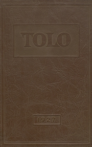 Franklin High School - Tolo Yearbook (Seattle, WA) online yearbook collection, 1927 Edition, Cover