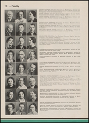 Page 14, 1937 Edition, Franklin High School - Tolo Yearbook (Seattle, WA) online yearbook collection