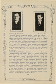 Franklin and Marshall Academy - Epilogue Yearbook (Lancaster, PA) online yearbook collection, 1919 Edition, Page 16 of 150