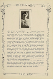 Franklin and Marshall Academy - Epilogue Yearbook (Lancaster, PA) online yearbook collection, 1919 Edition, Page 17