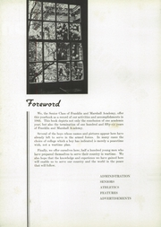Page 10, 1943 Edition, Franklin and Marshall Academy - Epilogue Yearbook (Lancaster, PA) online yearbook collection