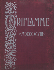 Franklin and Marshall College - Oriflamme Yearbook (Lancaster, PA) online yearbook collection, 1898 Edition, Cover