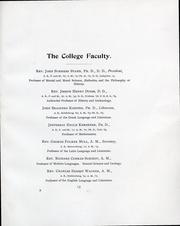 Page 15, 1898 Edition, Franklin and Marshall College - Oriflamme Yearbook (Lancaster, PA) online yearbook collection