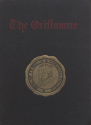 Franklin and Marshall College - Oriflamme Yearbook (Lancaster, PA) online yearbook collection, 1913 Edition, Cover