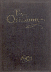 Franklin and Marshall College - Oriflamme Yearbook (Lancaster, PA) online yearbook collection, 1921 Edition, Cover