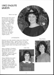 Page 13, 1962 Edition, Frankton High School - Eaglite Yearbook (Frankton, IN) online yearbook collection