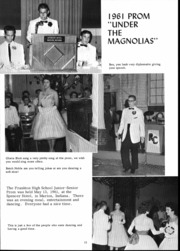 Page 17, 1962 Edition, Frankton High School - Eaglite Yearbook (Frankton, IN) online yearbook collection