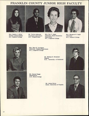 Franklin County Middle School - Bulldog Yearbook (Meadville, MS) online yearbook collection, 1972 Edition, Page 28