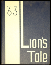 Fred W Hosler Junior High School - Lions Tale Yearbook (Lynwood, CA) online yearbook collection, 1963 Edition, Cover
