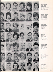 Page 15, 1963 Edition, Fred W Hosler Junior High School - Lions Tale Yearbook (Lynwood, CA) online yearbook collection