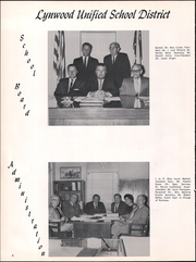 Page 6, 1963 Edition, Fred W Hosler Junior High School - Lions Tale Yearbook (Lynwood, CA) online yearbook collection