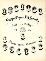 Frederick College - Driftwood Yearbook (Portsmouth, VA) online yearbook collection, 1966 Edition, Page 202