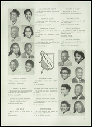 Page 10, 1955 Edition, Frederick Douglass High School - Survey Yearbook (Baltimore, MD) online yearbook collection